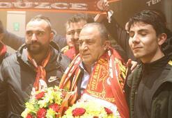 Galatasaray kafilesi Boluda