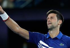 Medvedevi 3-1 yenen Djokovic çeyrek finale yükseldi