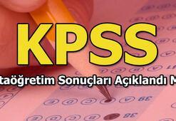 ÖSYM KPSS sonuçlarını ne zaman açıklayacak KPSS ortaöğretim sonuçları