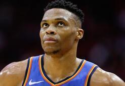 Westbrook, Chamberlainın rekoruna ortak oldu