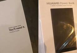 Huawei, yeni iPhonelar için sıraya girenlere powerbank dağıttı