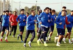 Antalyada Trabzonspor mesaisi
