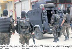 Bir yılda bin 716 PKK'lı öldürüldü