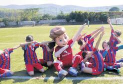 Minik şeytanların futbol coşkusu
