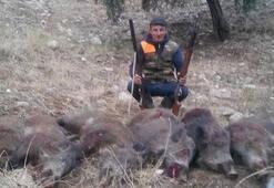 Aydın'da avcılar domuzla mücadele sezonu başlatıldı