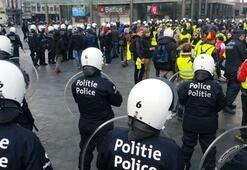 Bu kez Belçika Onlarca gözaltı var