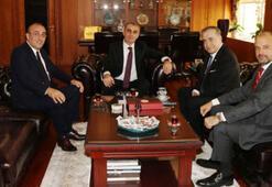 Mustafa Cengizden Başsavcı Fidana ziyaret