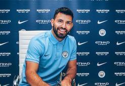 Sergio Agüero 2021e kadar Manchester Cityde