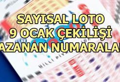 Sayısal Loto çekiliş sonuçları açıklandı 9 Şubat Sayısal Loto kazanan numaralar
