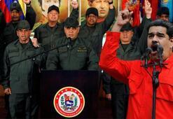 Son dakika: Maduro emir verdi Askerler tetikte bekliyor...
