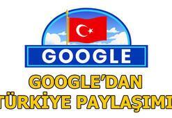 Googleden 29 Ekim paylaşımı Cumhuriyet Bayramımız doodle oldu