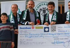 Atiker Konyaspordan otizm vakfına destek
