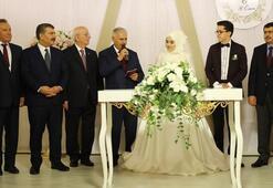 TBMM Başkanı Yıldırım, nikah şahidi oldu