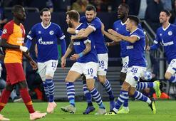 Schalke 04 - Galatasaray: 2-0 (İşte maçın özeti)