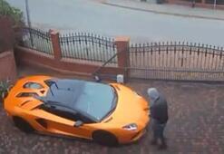 Kıskançlığın böylesi Lamborghiniyi anahtarla çizdi