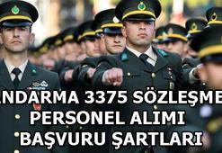 Jandarma Genel Komutanlığı sözleşmeli astsubay başvuru şartları 3375 astsubay...