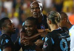 Trabzonsporu gol yollarında yabancı oyuncuları sırtlıyor