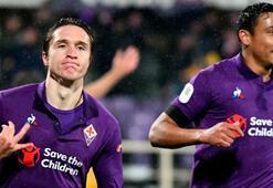 Fiorentina, Romayı dağıttı 8 gol, 1 kırmızı...