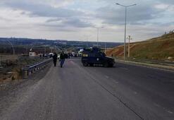 Diyarbakırda şüpheli otomobil, fünyeyle patlatıldı
