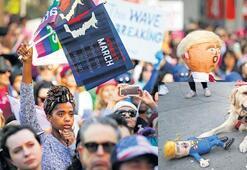 Trump'a karşı sokaktaydılar