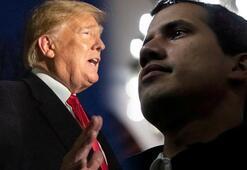 Beyaz Saray açıkladı Trump ile Guaido anlaştı