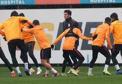 Galatasarayda Belhanda takımdan ayrı çalıştı