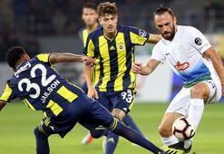 Çaykur Rizespor - Fenerbahçe: 3-0 (İşte maçın özeti)