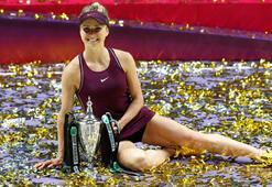 WTA Finallerinin şampiyonu Svitolina