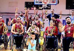 Galatasaray Tekerlekli Sandalye Basketbol Takımına sponsor