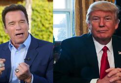 Arnold Schwarzenegger, Trump için çatlak tabirini kullandı
