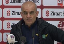 Ercan Kahyaoğlu: Galip gelerek tur atladık. Mutluyuz ve memnunuz