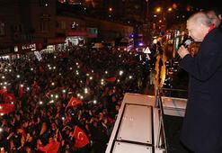 Cumhurbaşkanı Erdoğan: Kendi içinizde bölünmeyeceksiniz