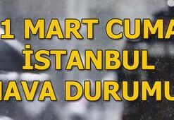 İstanbul hava durumu İstanbulda yağış...