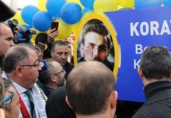Başkan Ali Koç, Koray Şener Parkının açılışını yaptı
