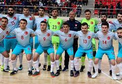 A Milli Futsal Takımı, Tacikistanı yendi