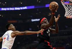 Raptors, Clippers deplasmanında kazandı