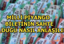 Sahte Milli Piyango bileti nasıl anlaşılır