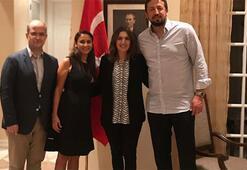 Hidayet Türkoğlundan Türkiyenin Miami Başkonsolosuna ziyaret