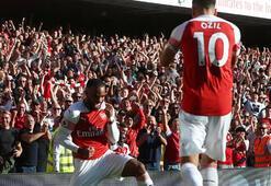 Arsenal Mesutla kazandı