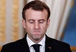 Macron'dan sarı yeleklilere tepki