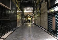 İranda esnaf yine kepenk kapattı