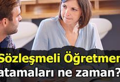 Sözleşmeli Öğretmenlik tercihleri ne zaman alınacak MEB duyurdu...
