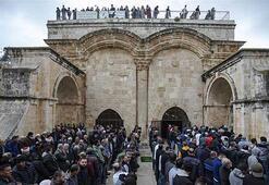 Emevilerin yaptığı Rahmet Kapısı'nı Kudüslüler savunuyor