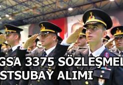 Jandarma Genel Komutanlığı astsubay alımı başvurusu nasıl yapılır 3375 sözleşmeli astsubay