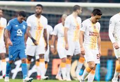 Galatasaray seri başı olamadı