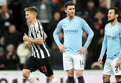 Manchester Cityye derin darbe: 1-2