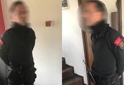 Bursada yakalandı Özel harekat kıyafeti, silah, telsiz