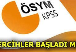 KPSS tercihleri ne zaman KPSS - DHBT sınav giriş belgesi sorgulama