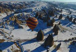 Kapadokyada tarihi rekor