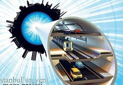 '3 Katlı Tünel'in planlarına onay